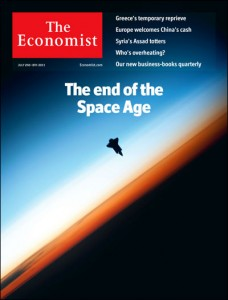 The Economist, July 2–8, The End of the Space Age