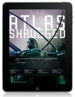 Ayn Rand's Atlas Shrugged iPad App