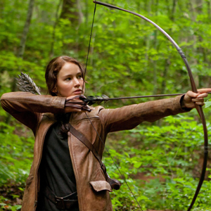 Katniss from The Hunger Games