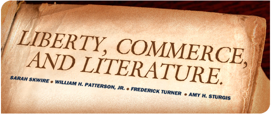 Cato Unbound: July 2012 Issue: Liberty, Commerce, and Culture