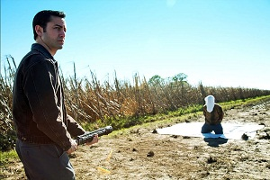 Looper: Joseph Gordon-Levitt and Bruce Willis
