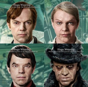 The many roles of Hugo Weaving.